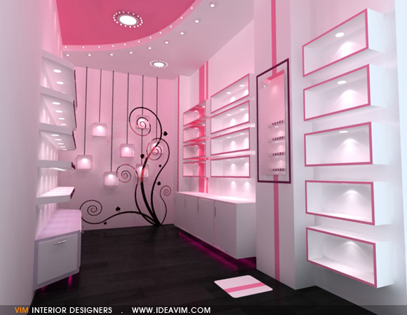 VIM Interior Designers | Rose Cosmetics shop