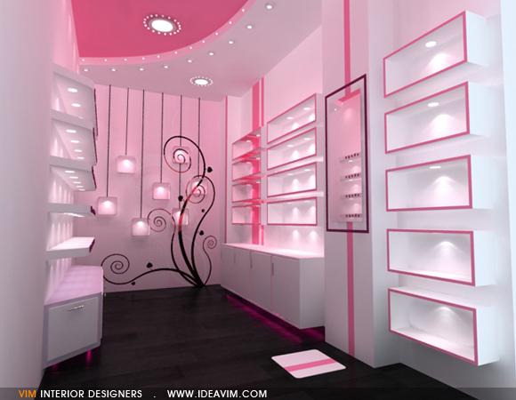 vim interior designers | rose cosmetics shop